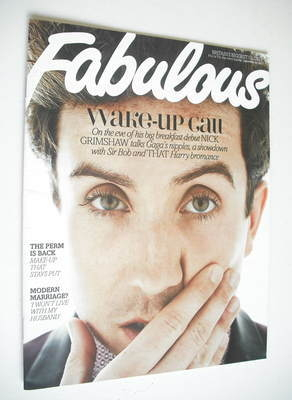 <!--2012-09-23-->Fabulous magazine - Nick Grimshaw cover (23 September 2012