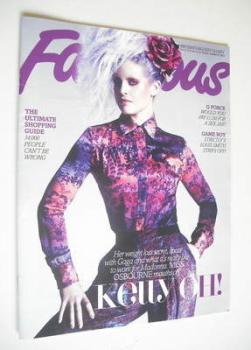 Fabulous magazine - Kelly Osbourne cover (21 October 2012)