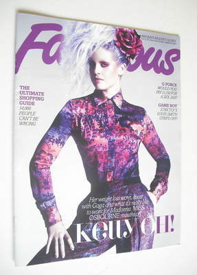<!--2012-10-21-->Fabulous magazine - Kelly Osbourne cover (21 October 2012)