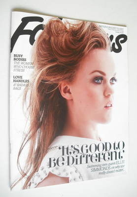 <!--2012-10-28-->Fabulous magazine - Ellie Simmonds cover (28 October 2012)