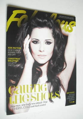 <!--2012-11-18-->Fabulous magazine - Cheryl Cole cover (18 November 2012)