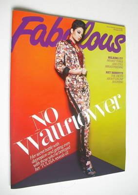 <!--2012-11-25-->Fabulous magazine - Tulisa Contostavlos cover (25 November