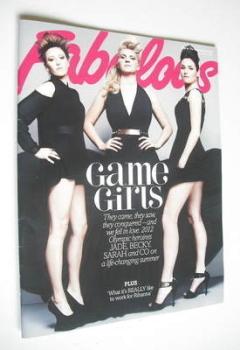 Fabulous magazine - Game Girls cover (2 December 2012)