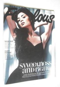 Fabulous magazine - Nicole Scherzinger cover (9 December 2012)
