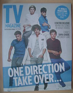 <!--2012-09-29-->The Sun TV magazine - 29 September 2012 - One Direction co