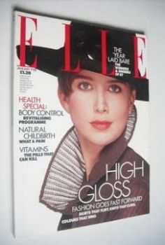 <!--1988-01-->British Elle magazine - January 1988 - Ava Taylor cover