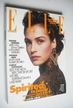 British Elle magazine - November 1988
