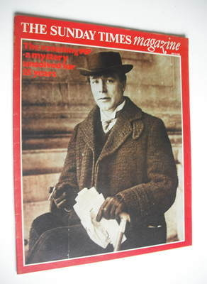 <!--1975-07-13-->The Sunday Times magazine - Victor Grayson MP cover (13 Ju