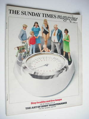 <!--1976-10-03-->The Sunday Times magazine - The Art Of Body Maintenance (3