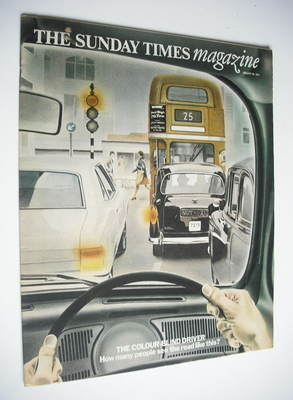 <!--1974-01-20-->The Sunday Times magazine - The Colour-Blind Driver cover