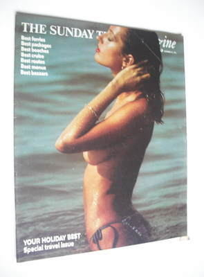 <!--1975-12-21-->The Sunday Times magazine - Your Holiday Best cover (21 De