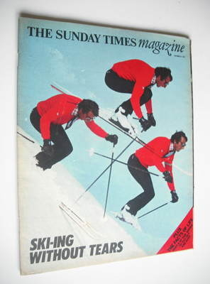 <!--1974-10-06-->The Sunday Times magazine - Skiing Without Tears cover (6