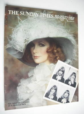 <!--1974-11-24-->The Sunday Times magazine - Susan Hampshire cover (24 Nove