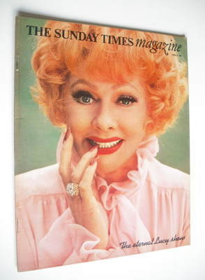 <!--1974-04-14-->The Sunday Times magazine - Lucille Ball cover (14 April 1