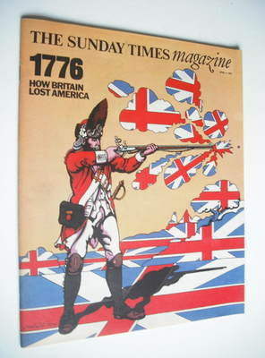 <!--1976-04-11-->The Sunday Times magazine - 1776 How Britain Lost America