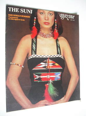 <!--1976-07-11-->The Sunday Times magazine - Red Indian Summer cover (11 Ju