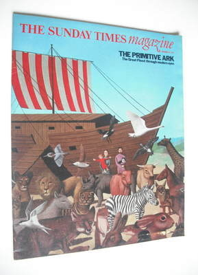 <!--1976-12-19-->The Sunday Times magazine - The Primitive Ark cover (19 De