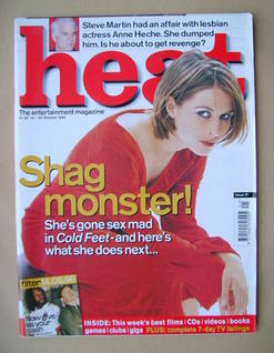 Heat magazine - Helen Baxendale cover (14-20 October 1999 - Issue 37)