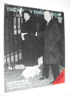 <!--1976-08-08-->The Sunday Times magazine - Audrey and James Callaghan cov