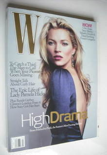 <!--2006-03-->W magazine - March 2006 - Kate Moss cover