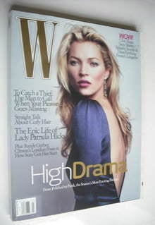 W magazine - March 2006 - Kate Moss cover
