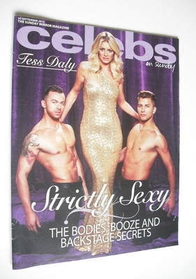 <!--2012-09-30-->Celebs magazine - Tess Daly cover (30 September 2012)