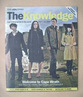 The Knowledge magazine - 7-13 July 2007 - Cape Wrath cover