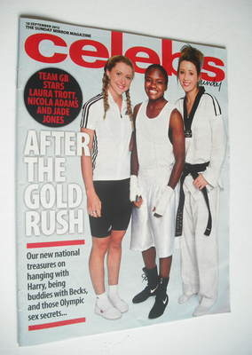 <!--2012-09-16-->Celebs magazine - Team GB Stars cover (16 September 2012)