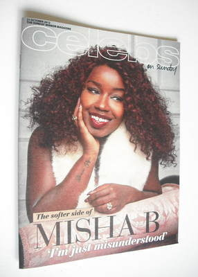 <!--2012-10-21-->Celebs magazine - Misha B cover (21 October 2012)