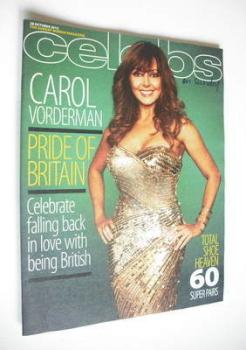 Celebs magazine - Carol Vorderman cover (28 October 2012)