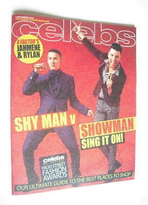<!--2012-11-04-->Celebs magazine - Jahmene Douglas and Rylan Clark cover (4