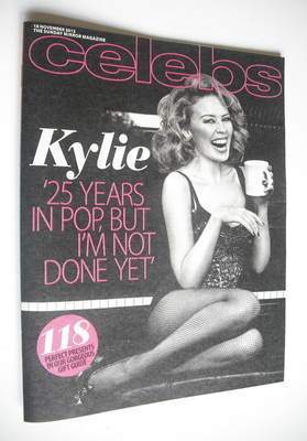<!--2012-11-18-->Celebs magazine - Kylie Minogue cover (18 November 2012)