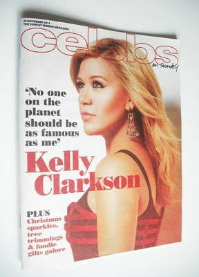 <!--2012-11-25-->Celebs magazine - Kelly Clarkson cover (25 November 2012)
