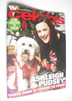 Celebs magazine - Ashleigh Butler and Pudsey cover (16 December 2012)