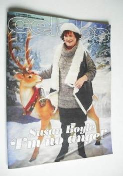Celebs magazine - Susan Boyle cover (9 December 2012)