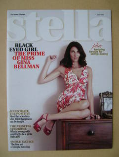 Stella magazine - Gina Bellman cover (1 April 2007)