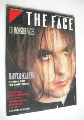 <!--1985-10-->The Face magazine - Robert Smith cover (October 1985 - Issue