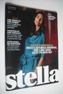 <!--2006-11-12-->Stella magazine - Caterina Murino cover (12 November 2006)