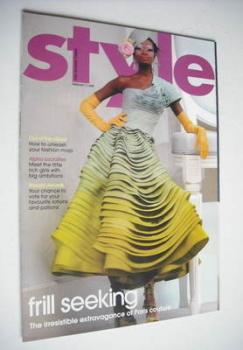 Style magazine - Frill Seeking cover (11 February 2007)