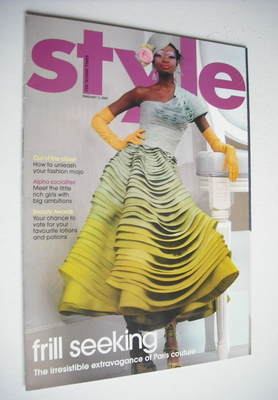 <!--2007-02-11-->Style magazine - Frill Seeking cover (11 February 2007)