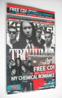 <!--2007-04-07-->Kerrang magazine - Trivium cover (7 April 2007 - Issue 1153)
