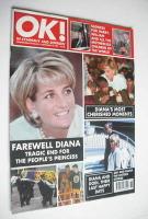<!--1997-09-12-->OK! magazine - Princess Diana cover (12 September 1997 - Issue 76)
