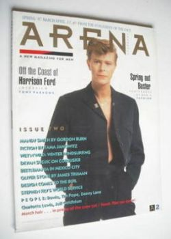Arena magazine - Spring 1987 - David Bowie cover