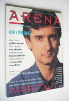 Arena magazine - Summer/Autumn 1987 - Griffin Dunne cover