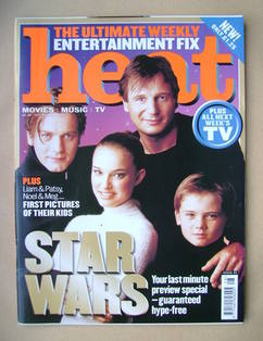 <!--1999-07-17-->Heat magazine - Star Wars cover (17-23 July 1999 - Issue 2