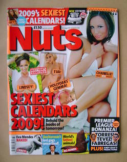<!--2008-08-15-->Nuts magazine - Chanelle Hayes cover (15-21 August 2008)