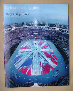 <!--2012-12-29-->Telegraph magazine - The Year In Pictures cover (29 Decemb