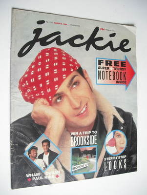 <!--1986-03-08-->Jackie magazine - 8 March 1986 (Issue 1157)