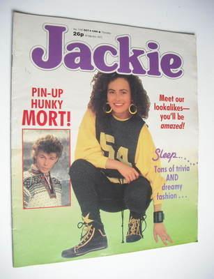 <!--1986-10-04-->Jackie magazine - 4 October 1986 (Issue 1187)