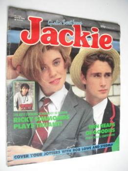 Jackie magazine - 18 October 1986 (Issue 1189)